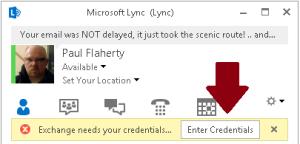 LyncEnterCredentials